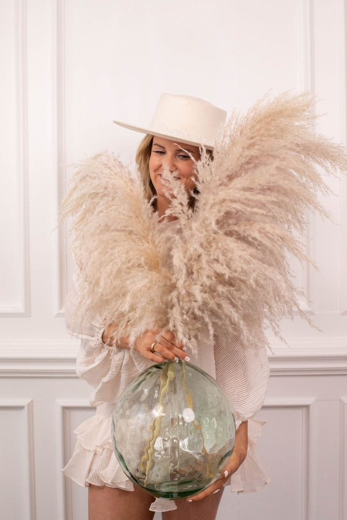 PAMPAS GRASS - Type 6 Silver Wings - LUXE B PAMPAS GRASS