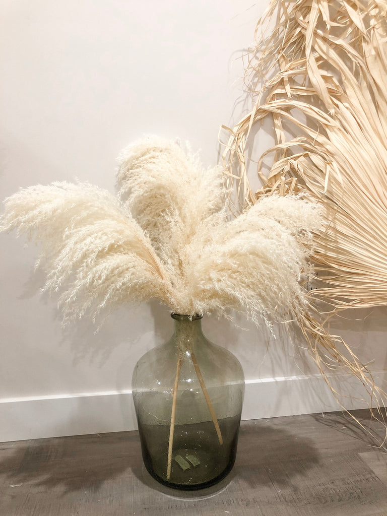 PAMPAS GRASS (3 Stems)-TYPE 2 Small - LUXE B OFFICIAL