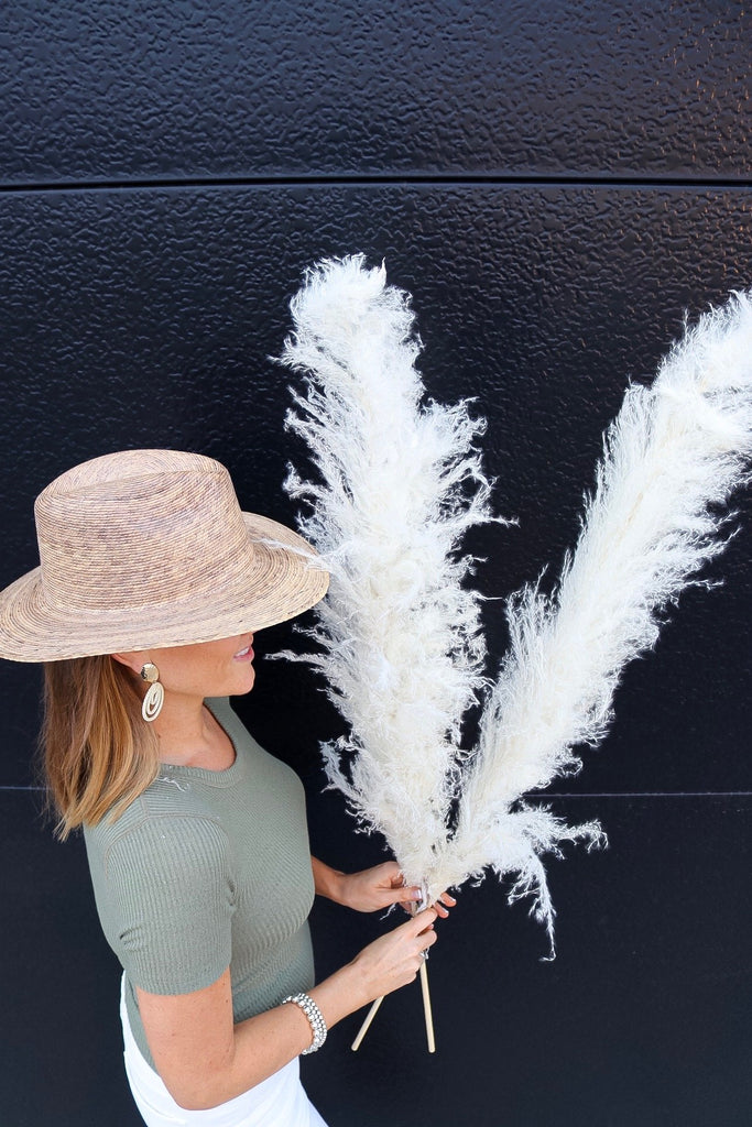 PAMPAS GRASS - Type 1 Bleach White - LUXE B OFFICIAL