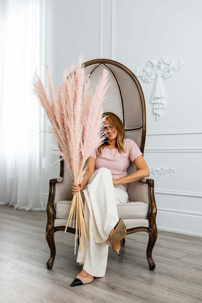 PAMPAS GRASS - Type 2 Light Pink