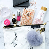 LUXE B Marble Cosmetic Makeup Bag