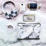 Luxe Blogger Marble Makeup bag