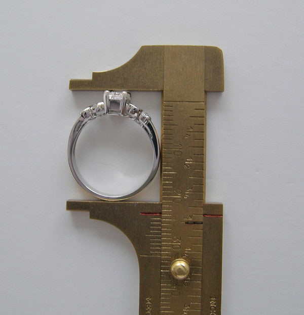 Gold Custom Engagement Ring Setting For Her