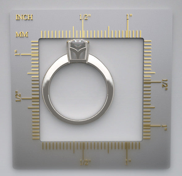 TRADITIONAL 4 PRONG SOLITAIRE RING SETTING