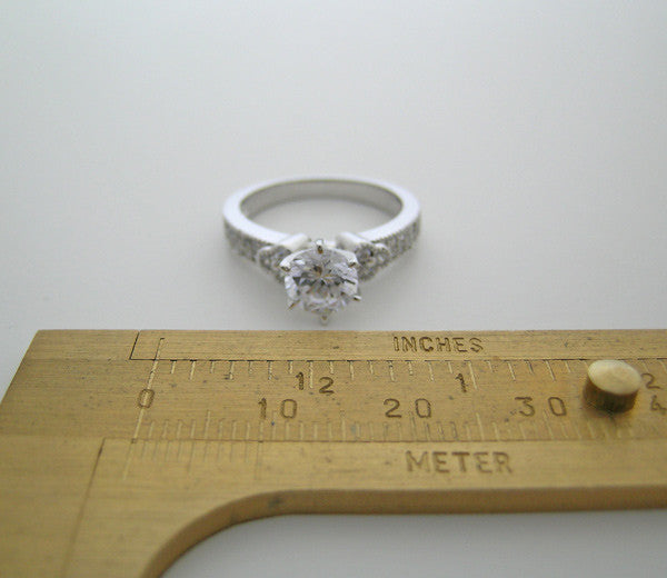 DIFFERENT RING SETTING WITH ART DECO STYLE AND  DIAMOND ACCENT