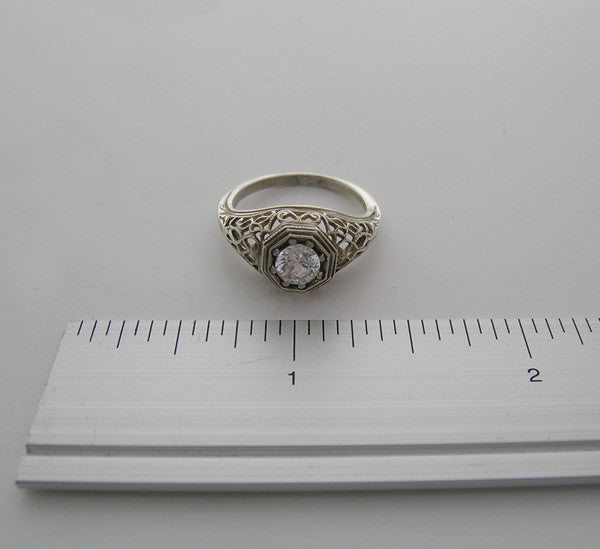 Art Deco Style Ring setting