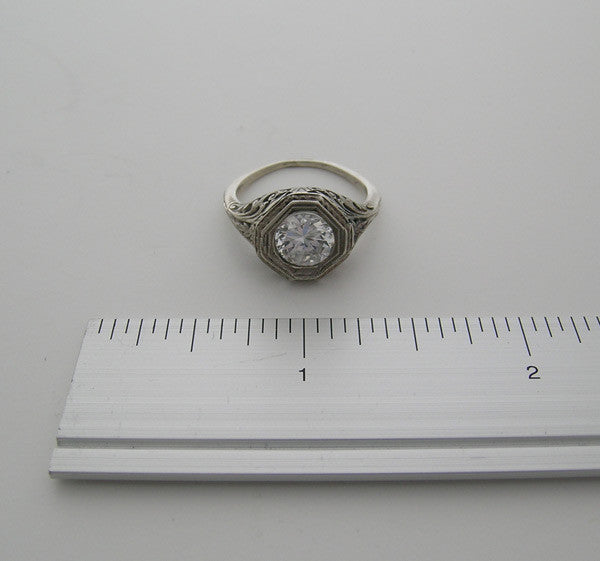 Old Fashion Ring Setting