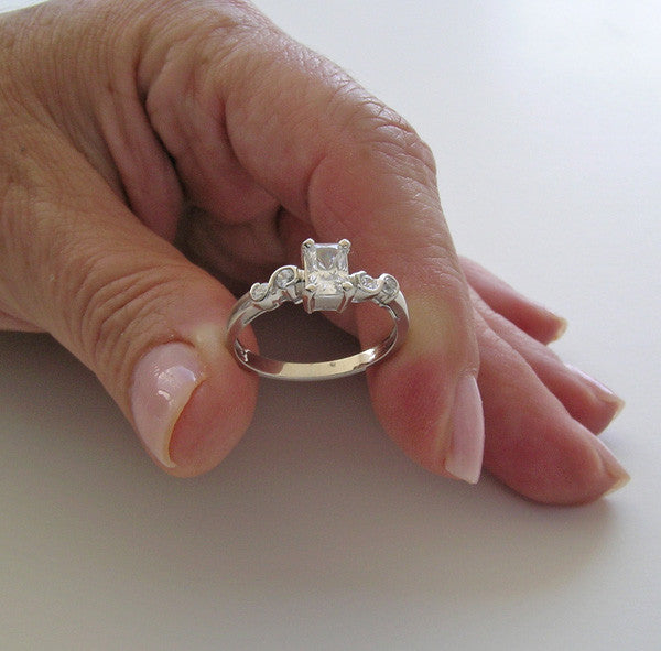 Platinum Custom Ring Setting For Her