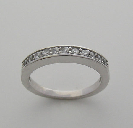 Contemporary Pavé Bridal Diamond Wedding Band