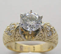 Diamond Ring Setting Remount for All Size and Shape Gemstone