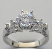 DIAMOND ENGAGEMENT RING SETTING FOR ALL SIZE AND DIAMOND SHAPE