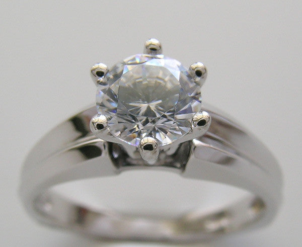 Traditional Engagement Ring Setting