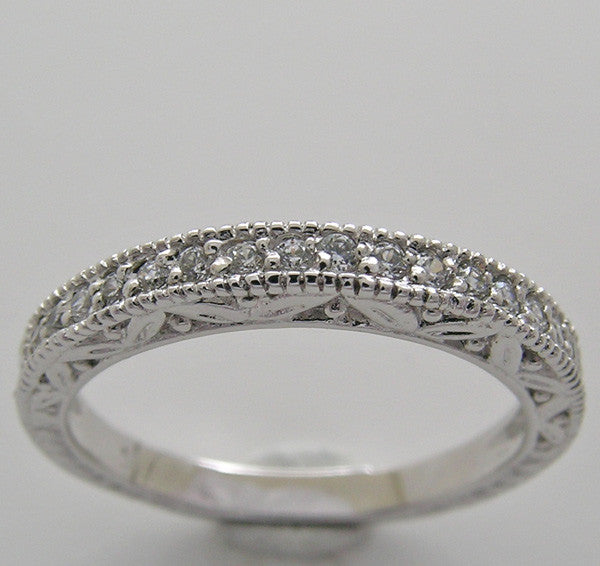 Engraved Wedding Anniversary Ring