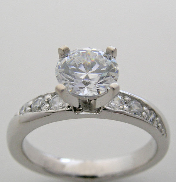Diamond Engagement Ring Setting for all size and shape diamonds