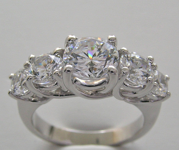 Five Stone Ring Setting or Remount