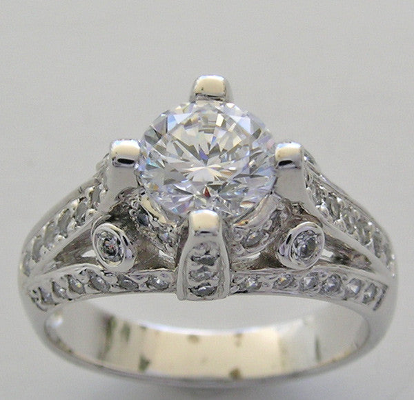 Diamond Ring Setting or Remount for a 6.5mm Size Diamond