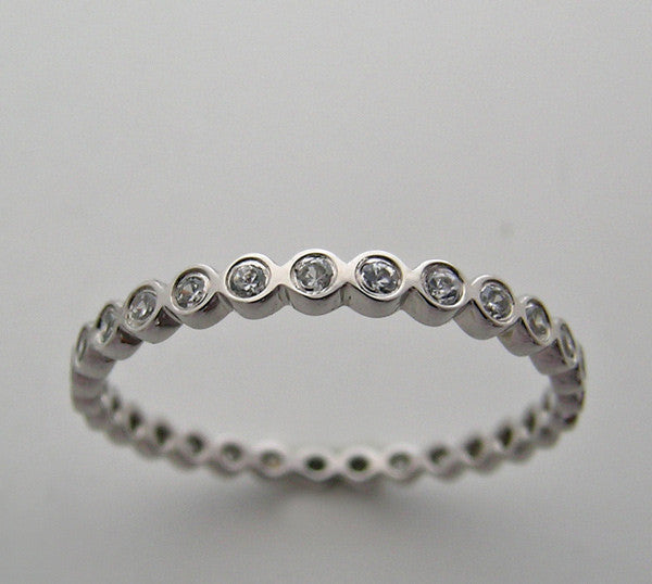 Classic Diamond Eternity Wedding Ring