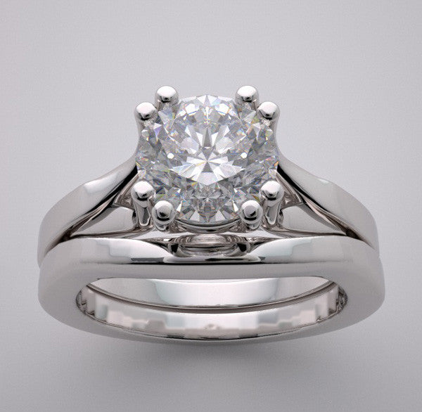 Split Engagement Ring Setting Set