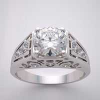 Versatile Ring Setting Engagement Right Hand Mens