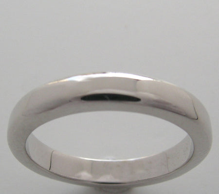 UNISEX PLAIN WEDDING BAND RING