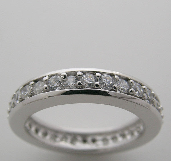 TRADITIONAL DIAMOND ETERNITY WEDDING RING