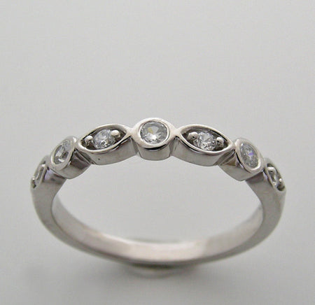 MULTI DIAMOND WEDDING BAND RING
