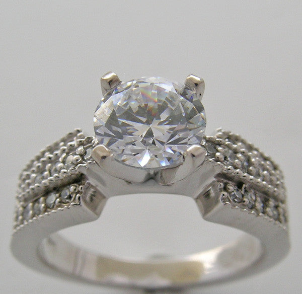 Diamond Ring Setting for all Size and Shape Diamond or Gemstone