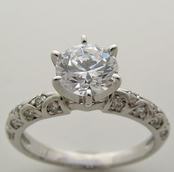 Engagement Diamond Ring Setting for All Size and Shape Gemstone