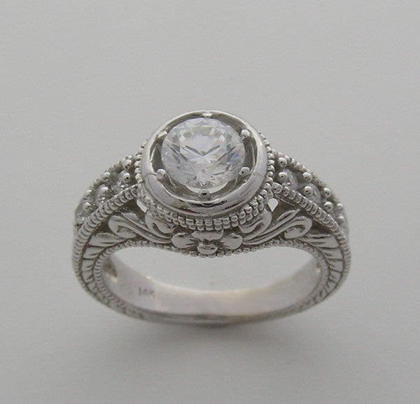Diamond Ring Setting or Remount for 5.80 mm Round Diamond