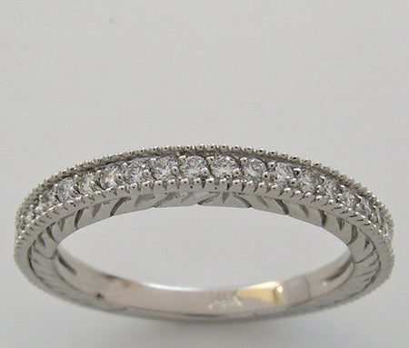 Antique.Style Diamond wedding ring