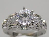 Diamond engagement ring setting or right hand ring setting