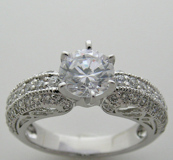 Diamond Ring Setting or Remount for all Size and Shape Diamonds