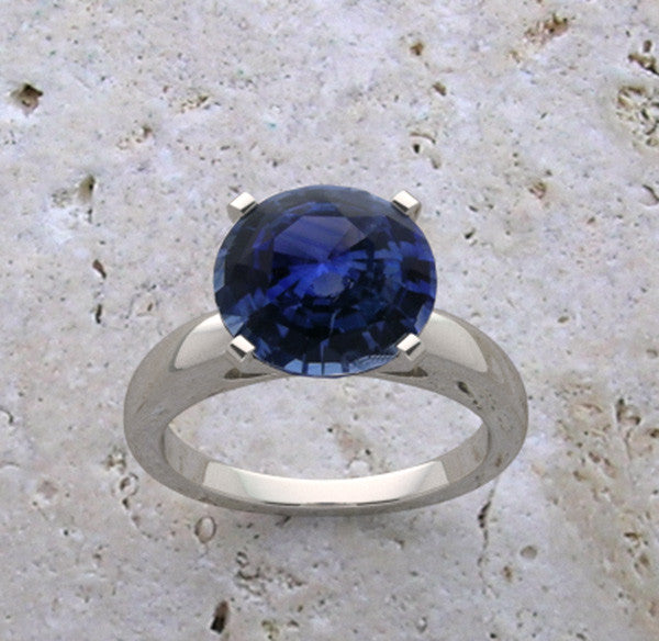 Classic Sapphire Ring