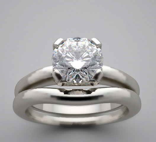 RING SETTING SET FOR A 6.5 MM ROUND SHAPE DIAMOND