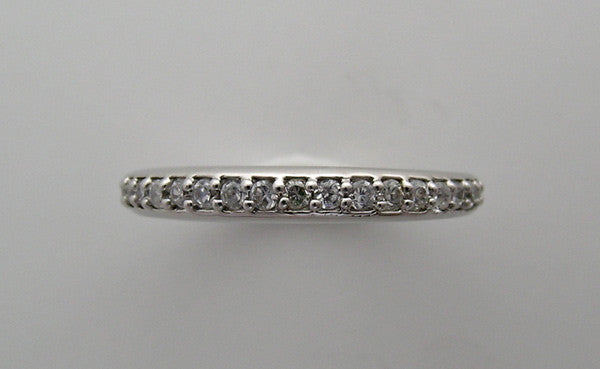 ELEGANT DIAMOND WEDDING BAND RING