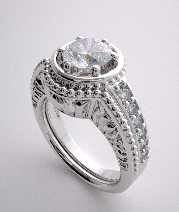 Platinum Ring Setting For Engagement