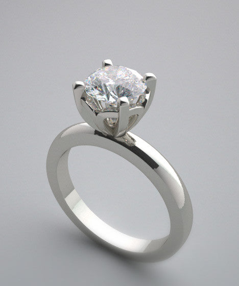 DIFFERENT ELEGANT SOLITAIRE ENGAGEMENT RING SETTING