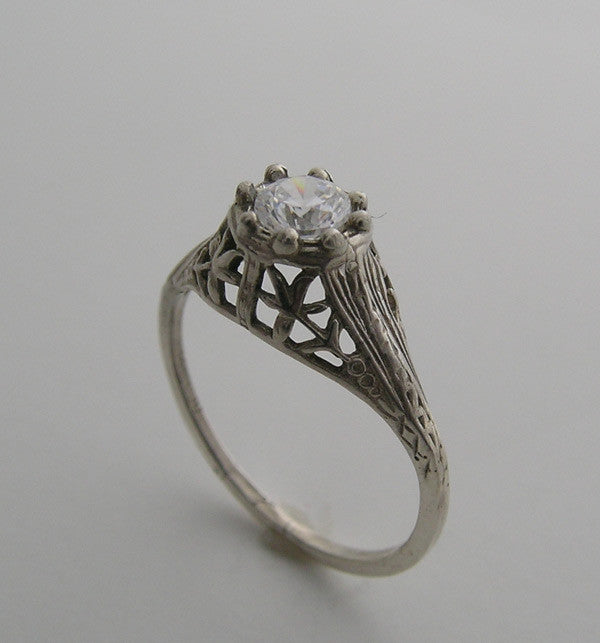 14k Old World Style Ring Setting
