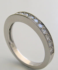 ELEGANT ANNIVERSARY DIAMOND WEDDING BAND RING