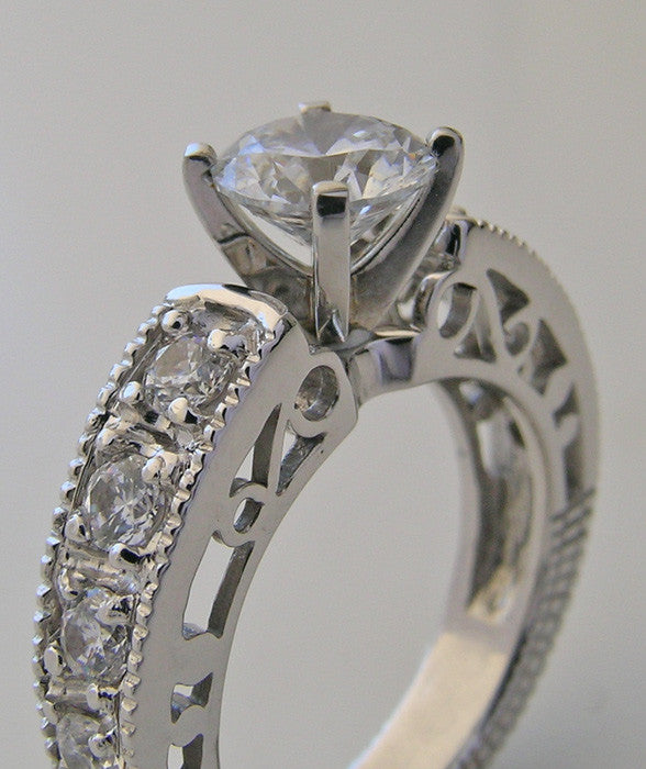 UNUSUAL ENGAGMENT RING