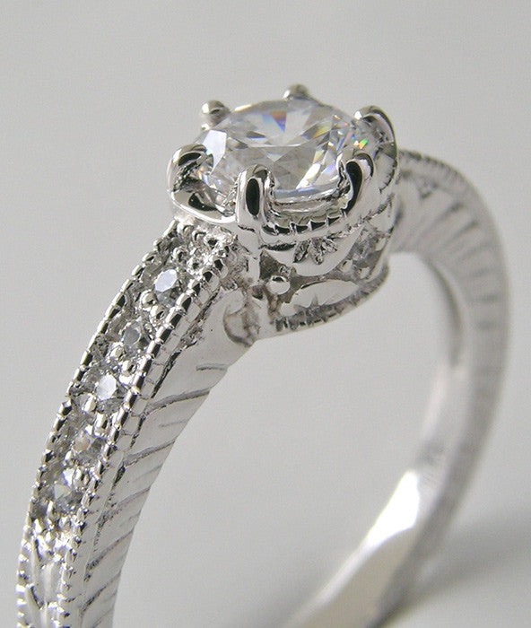 SPECIAL BUTTERCUP ENGAGEMENT RING SETTING