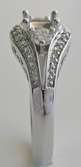 Detailed Diamond Ring Mountings