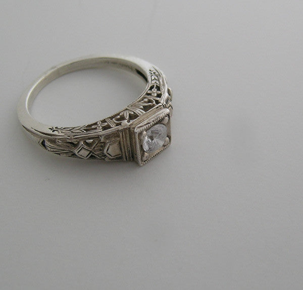 Deco Style Ring Setting for Sweet Sixteen 5.00 mm