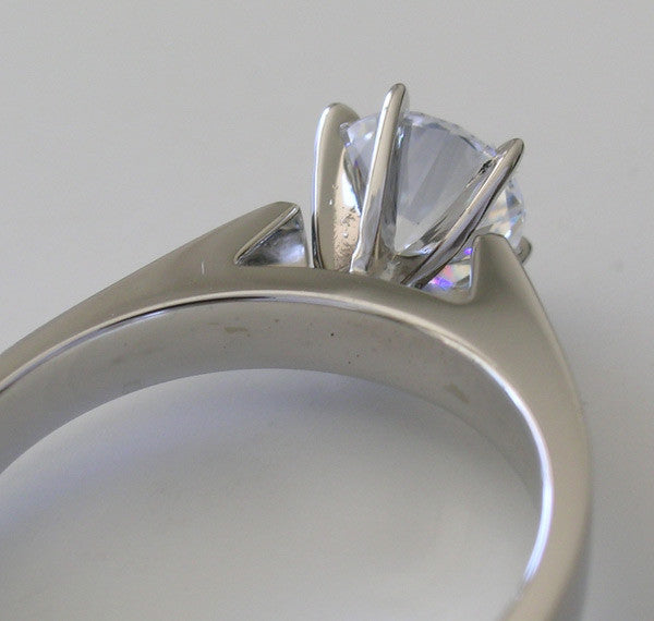 SOLITAIRe RING SETTING FOR ALL SHAPES AND SIZES