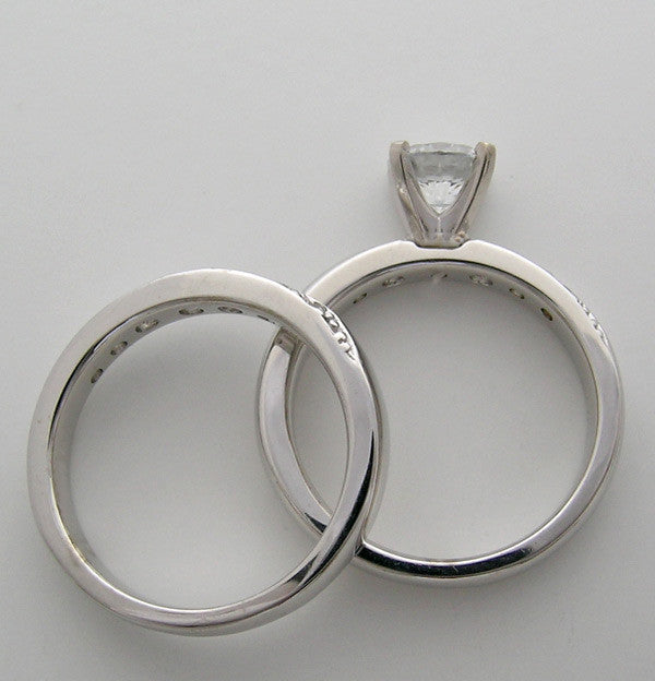 DIFFERENT RING SETTING FOR ENGAGEMENT RING SET