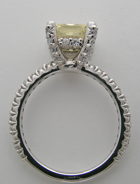 Gold Darling Engagement Ring Setting