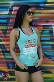 No limit Womens IM A MUTHAFUKN BEAST TANK TOP
