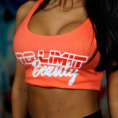 No Limit Beauty Tank Top - Orange