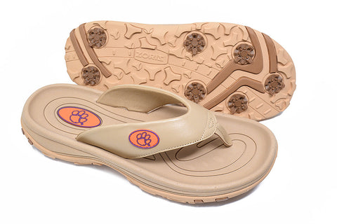 87f46ee4e5ae Sandals. clemson university golf sandal