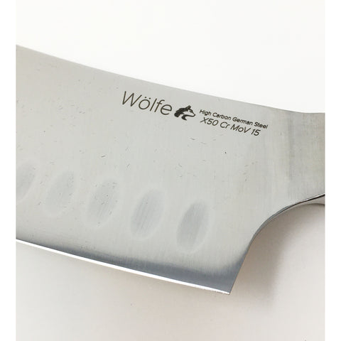 Wolfe Cleaver Knife 4""